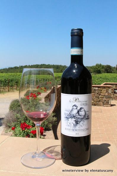 le potazzine, le potazzine brunetto di montalcino, le potazzine rosso di montalcino, rosso di montalcino, sangiovese, red wine, tuscan wine, vino toscano,
