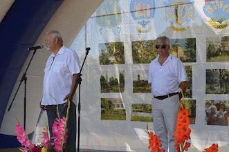 Photo: Gondos Gyula Helesfa polgármestere és Kovács Győző az NyMTIT elnöke