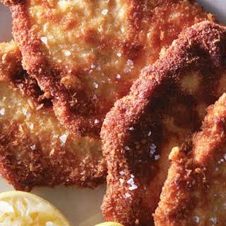 Parmesan Chicken Cutlets recipe | Epicurious.com.