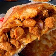 Crispy Pancake with New Orleans Chicken 奥尔良鸡腿火烧