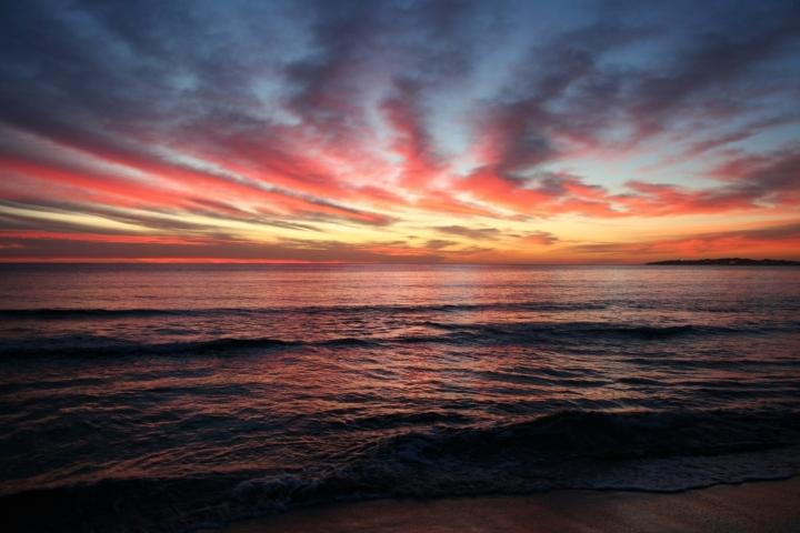 Il mare all'Alba ... di paso
