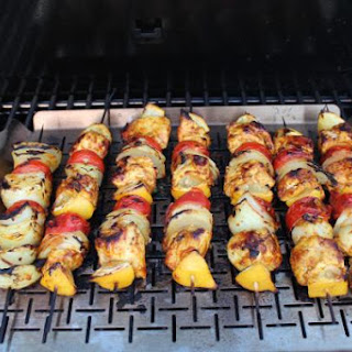 Moroccan Style Chicken Kebabs