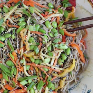 Light Asian Noodle Salad.