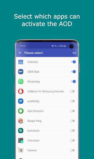 Notification Light / LED Note10, S10 - aodNotify - Apps on