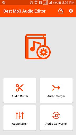 Audio Editor (MP3, AAC, OGG, WMA) - Video to MP3  screenshots 1