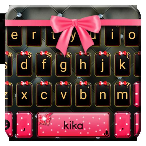 Luxury Bowknot Keyboard Theme Icon