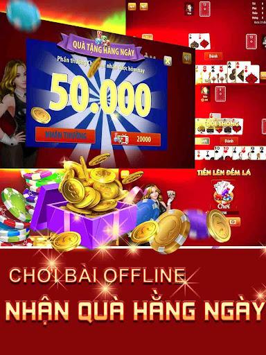 Tiu1ebfn Lu00ean u0110u1ebfm Lu00e1 - Tien Len Dem La Offline 2020 1.1.2 8