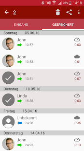 Anruf Aufzeichnen Screenshot