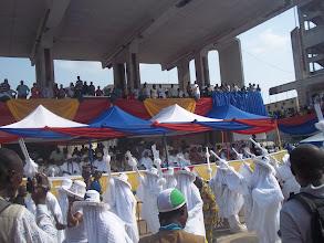 Photo: Eyo Olokun pays homage to the VIP section