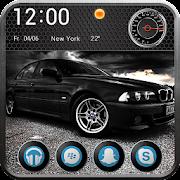 Black 5 BMWE 39 Legendary Car Launcher Theme