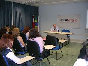 Photo: CONFERENCIA DEL PROF. MARGIOTTA - UNISUL, FLORIANOPOLIS, BRASIL - 23 de Abril de 2008