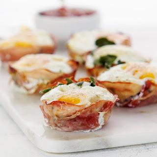 Eggy Ham & Cheese Tarts