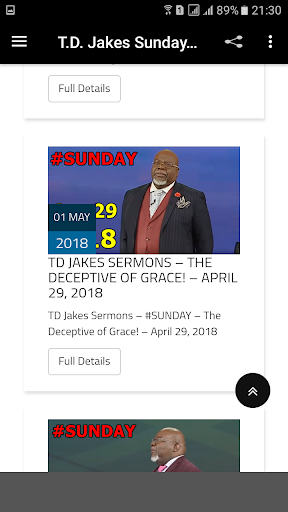 Download T D  Jakes Sunday Sermons on PC & Mac with AppKiwi APK