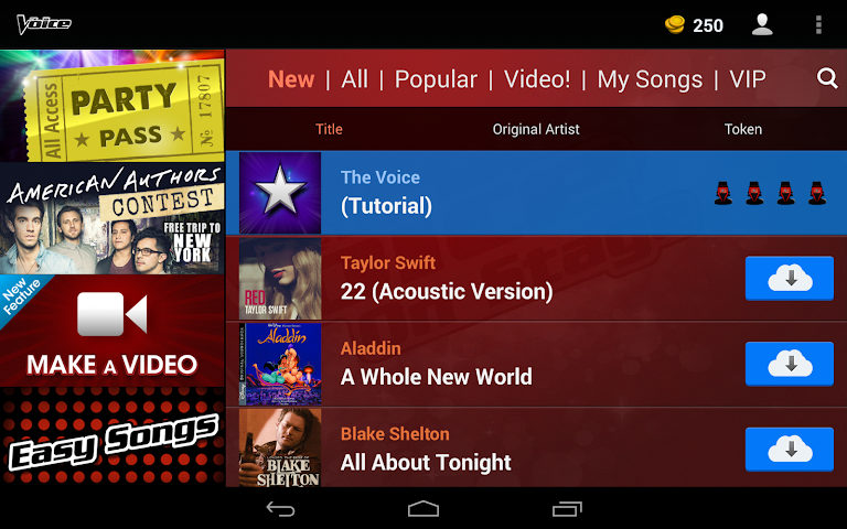 android The Voice: On Stage Screenshot 5