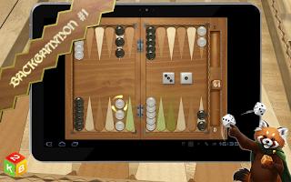 Screenshot of Backgammon Masters