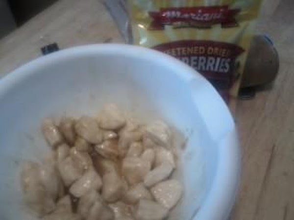 Pop open buiscuts and cut into 4's. Combine rest of ingredients in a bowl and...