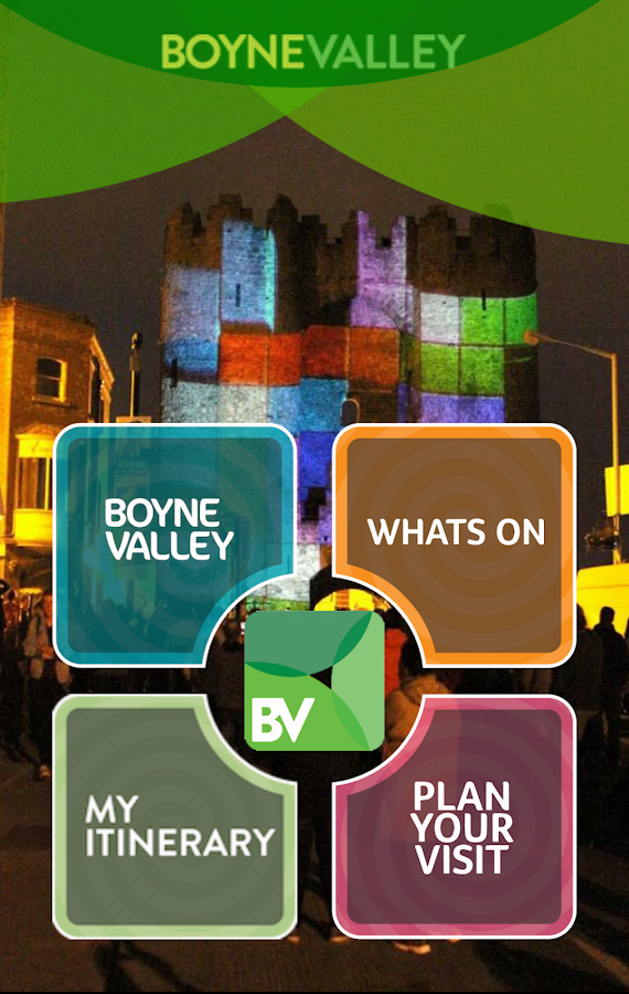 Boyne Valley App- screenshot