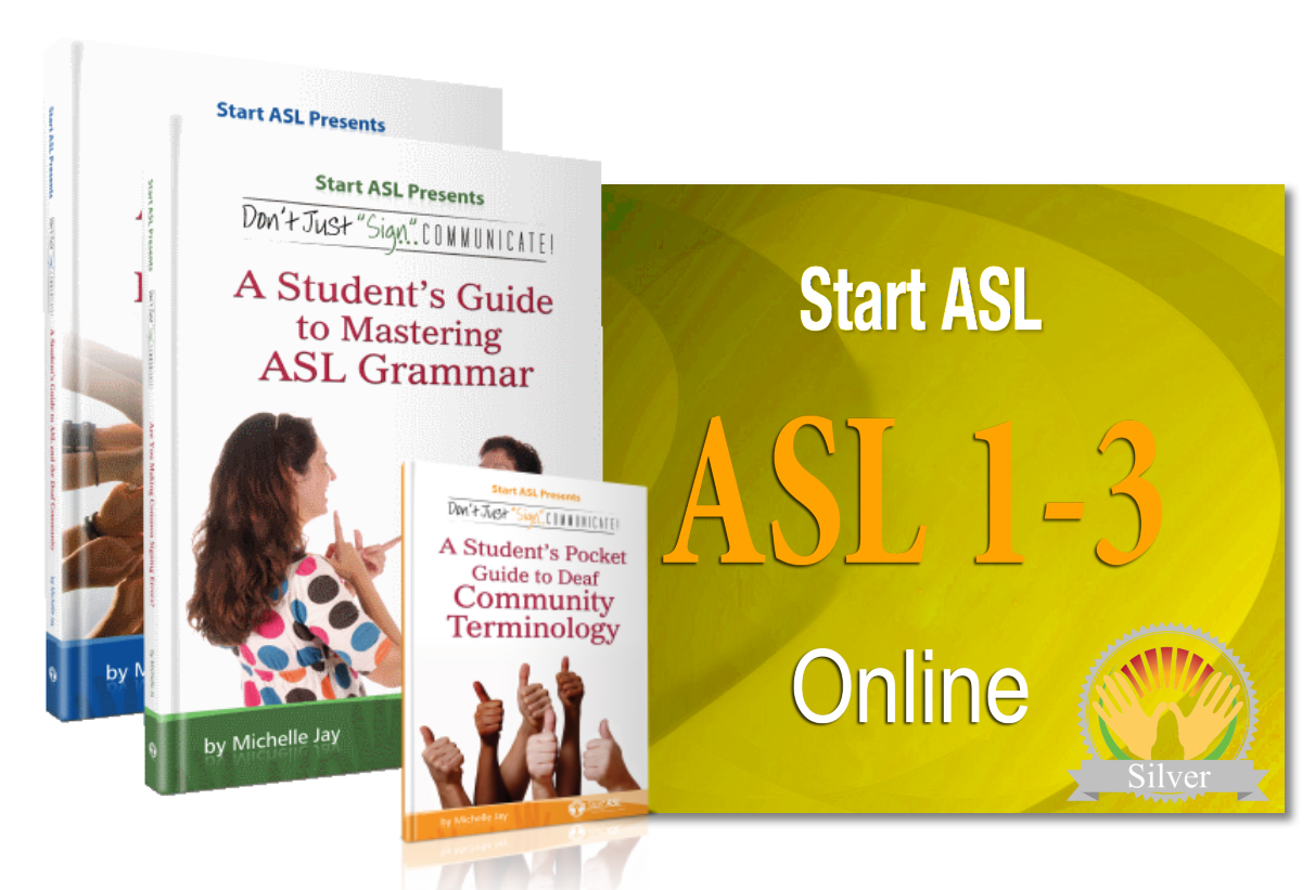 Start ASL Online Silver Level One Year