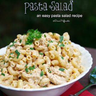 Chicken Taco Ranch Pasta Salad