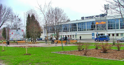 Photo: Odnowiony Dworzec PKP w Terespolu