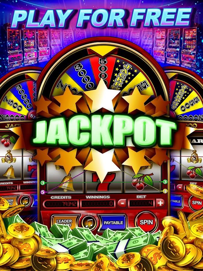 Free slot machine games no money
