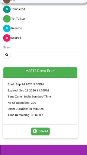 MSBTE Exam