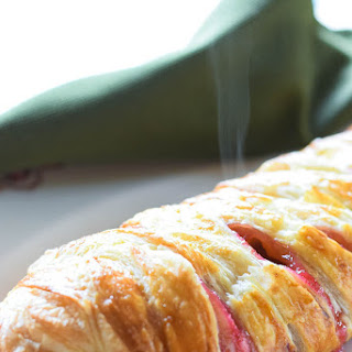 Rhubarb Cheese Danish Recipe