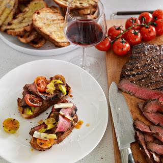 Balsamic Marinated Flank Steak Recipe