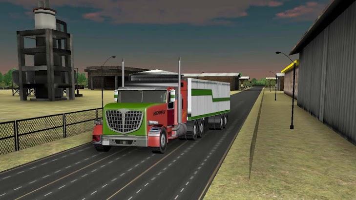 Truck Driver Cargo Race screenshot