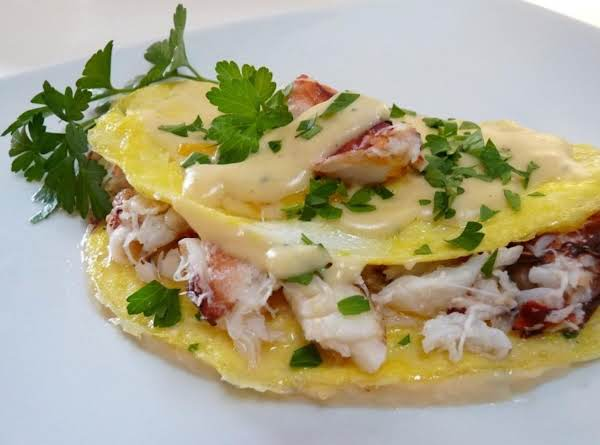 Dungeness Crab Omlette