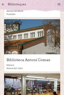 BiblioMaresme- screenshot thumbnail