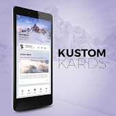 Kustom Kards Theme for KLWP
