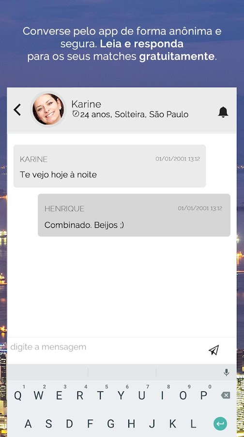 NamoroOnline - Chat & Encontros- screenshot