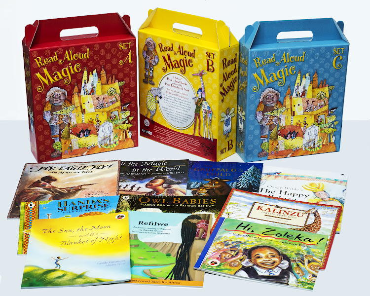 READ Educational Trust's online shop includes read aloud boxsets aimed at younger bibliophiles.