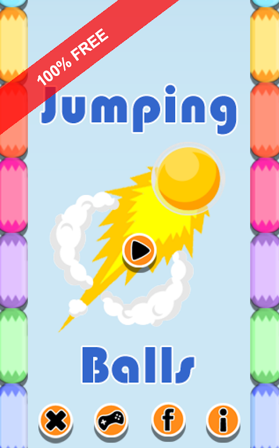 Jumping Balls. Bouncy Balls- screenshot