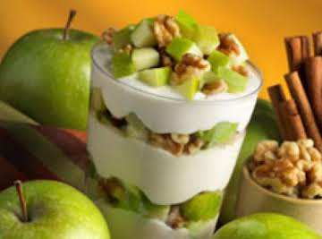 Apple Walnut Yogurt Parfait