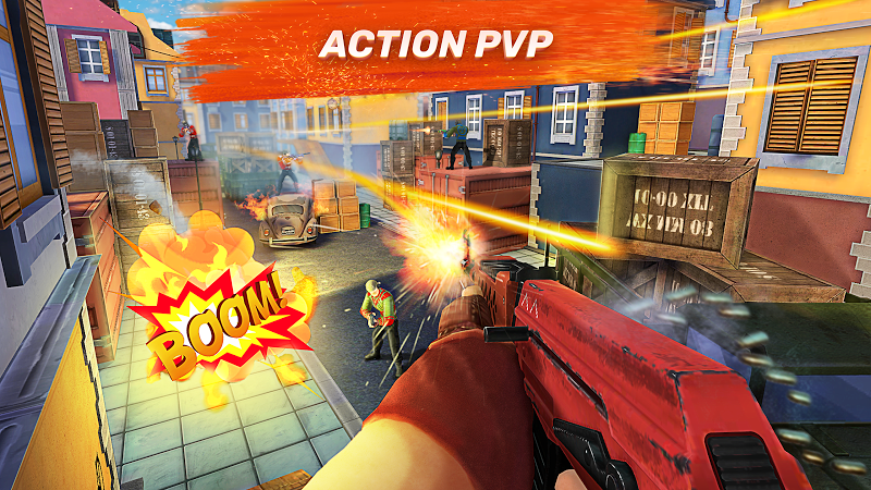 Guns of Boom – Online Shooter v2.1.0 [Mod]