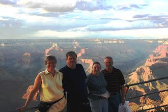 Photo: 2006 - vi var en tur sammen med Hanne og John bl.a. ved Grand Canyon