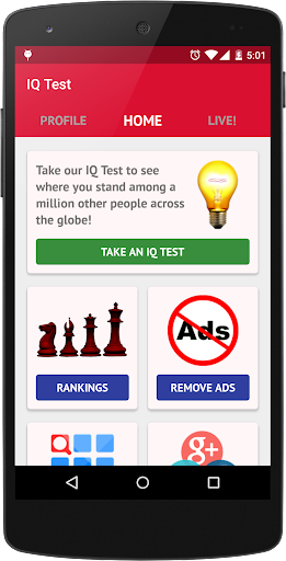 IQ Test - How smart are you? 2.6.7 screenshots 1