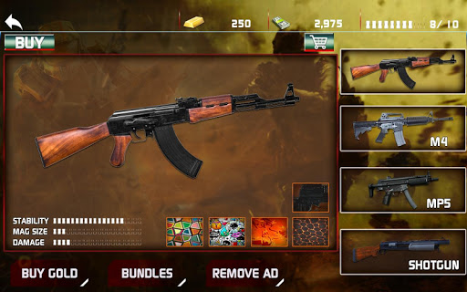 Modern Gun Shooter Sniper Killer 1.0.1 screenshots 14
