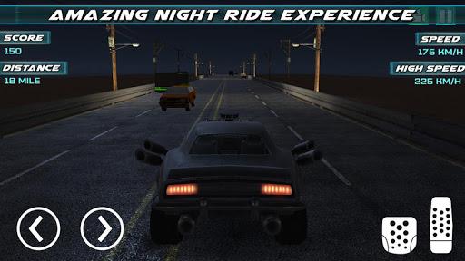 Highway Rider - Jeux Dodge Challenger  captures d'u00e9cran 1