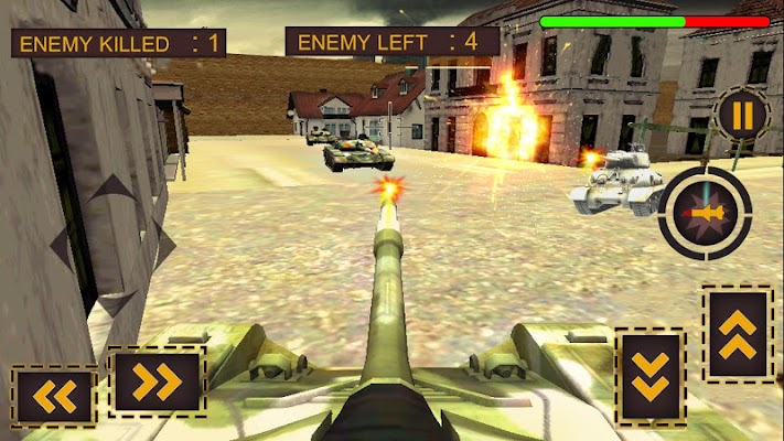 Tank General War 3D - screenshot