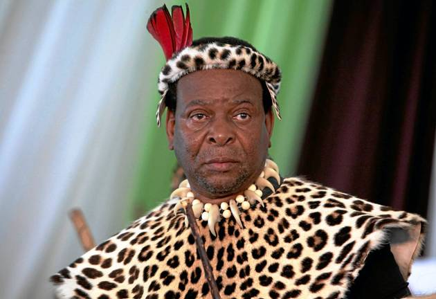 King Goodwill Zwelithini vows to defend his land against government's land expropriation without compensation.