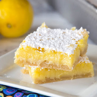 5-Ingredient Lemon Bars Recipe