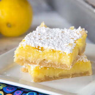 5-Ingredient Lemon Bars.