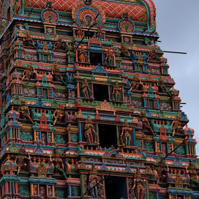 Temple Tower by Praveen Kumar - Artistic Objects Antiques