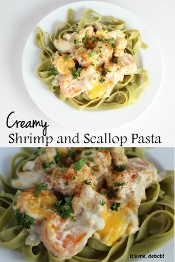 recipe: shrimp fettuccine with velveeta and cream of mushroom [23]