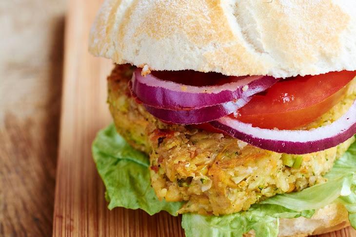 Vegetarian TVP Veggie Burgers Recipe