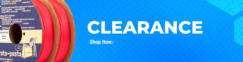 Clearance 3D Printers, Materials, and More