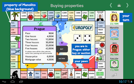 Europoly 1.0.4 screenshot 341064